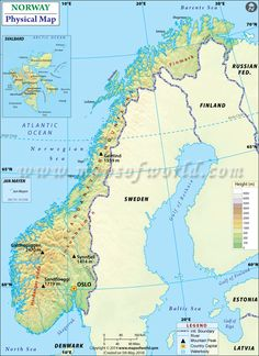 Physical Map of Thailand Maps Pinterest Sea level Ocean and
