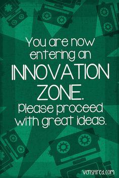 Innovation Zone ( by @Katie Schmeltzer Schmeltzer Voitsekhovsky