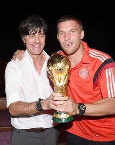 Copa 2014: com famosos e familiares, alemães comemora título em hotel - Terra Brasil