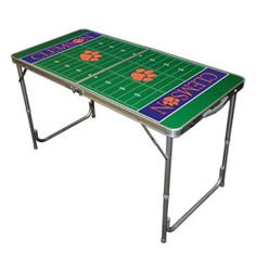 Clemson Tigers 2x4 Tailgate Table