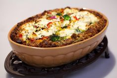 Broccoli-paprikataart met geitenkaas - Recept | 24Kitchen