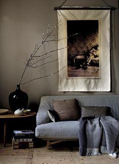 Home Living Room, Living Room Designs, Living Room Decor, Living Spaces, Living Area, Estilo Interior, Interior Styling, Turbulence Deco, Interior Walls