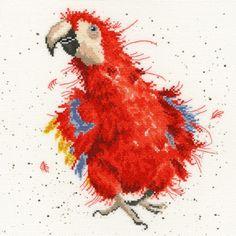 Parrot on Parade From Bothy Threads - Bothy Threads - Kits - Casa Cenina