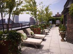 topfloor outdoor long open terrace garden house
