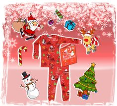 Christmas PJ's for Kids