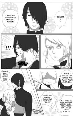 Hehehe if Sasu would ever be capable of cheating on his beloved wifu XD