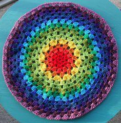 Revisiting the Granny Mandala….   Crochet with Raymond