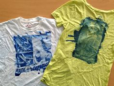 Make custom t-shirts with Lumi Inkodye >> http://blog.diynetwork.com/maderemade/how-to/diy-custom-tees-with-lumi-inkodye-and-the-sun/?soc=pinterest