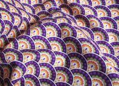 Tela de algodón floral en 150 cm de largo von Chic and Easy auf DaWanda.com