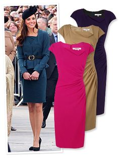 #KateMiddleton's  L.K. Bennett dress is available in a variety of fresh #spring colors! http://news.instyle.com/2012/03/09/kate-middletons-lk-bennett-dress/