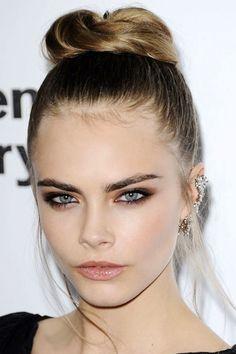 Cara Delevigne Her makeup