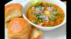 Indian Street Food - Pav Bhaji Mumbai Style