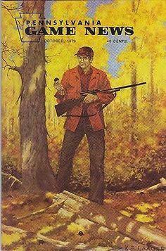 1979 Oct PA Pennsylvania Game News K E Laager Squirrel Ducks Deer Law | eBay