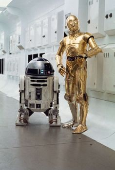 R2-D2 and 3-PO