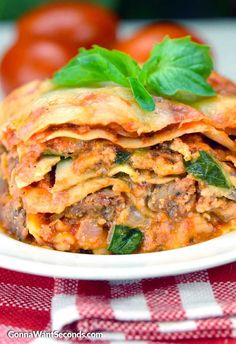 Delicious, hearty, easy to make Crock Pot Lasagna. This recipe is loaded with yummy layers of pasta, creamy cheese, sausage, and fresh basil.  It would be difficult to find a more wholesome, classic American family dish than lasagna. Some variation on a lasagna recipe—the famous layers of noodles and sauce and creamy ricotta cheese—has graced …