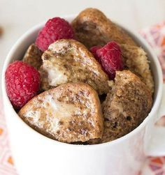 Microwave French toast 20 Microwave Recipes That Are Delicious and Nutritious (Yup!) | Nobody will argue that microwave recipes make cooking easier, but don't they make for less healthy food? Well, science has weighed in on the matter, and the answer is no.