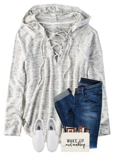 """""""I want those Vans so bad"""" by preppyandsouthern17 ❤ liked on Polyvore featuring American Eagle Outfitters, Hudson Jeans and Vans"""