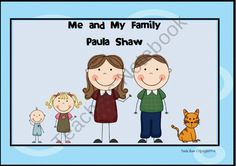 Me and My Family Unit product from Paulas-Place on TeachersNotebook.com
