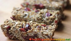 Goji Bars http://www.healthysnacksrecipes.net/goji-bars/ Easy healthy snack recipes gluten free vegetarian