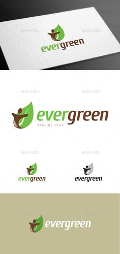 Buy Evergreen Logo Template by empativo on GraphicRiver. Modern, versatile and stylish logo template. Ideal for a wide range of uses. Easy to edit color. Logo Design Template, Logo Templates, Nature Logos, Water Logo, Color Text, Print Fonts, Travel Logo, Custom Logos, Logo Branding