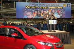 'Electric car is not dead,' GM chief says (Photo: Paul Eisenstein / The Detroit Bureau)