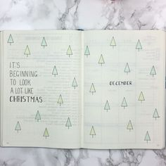 December all set up! I have really struggled this month with layout ideas and have been heavily inspired by quite a few people! Thank you to Sarah from @luckyletters for the December header idea Lavennz from @penpapersoul for the monthly layout inspiration Kara from @oak.tree.journaling for the reading log layout (I have been desperate to incorporate this into my bullet journal for months! Such a great idea!!) And @bluelahe for the weekly layout! I think my favourite spreads always seem…