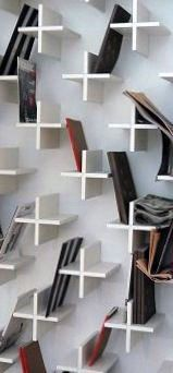 Modern Man Cave Decor Wall With Plus Sign Book Shelves Discover the art of decorating your manly space with the top 100 best man cave decor ideas for men. Explore cool interior designs, wall art and more. Interior Architecture, Interior And Exterior, Interior Design, Diy Furniture, Furniture Design, Automotive Furniture, Modern Furniture, Bookshelves, Bookshelf Wall