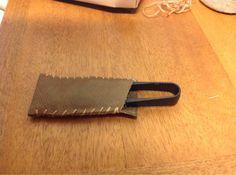 ハンドメイド:糸切り鋏のカバー