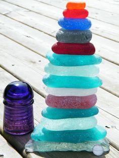 All Things Coastal Sea Glass| Serafini Amelia| Colorful Sea glass