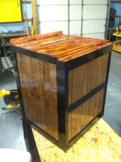 Put a cedar top on it and a clear coat.