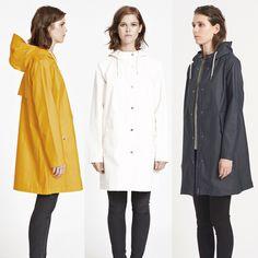 Årets regnfrakk fra Samsøe Samsøe - stala jacket
