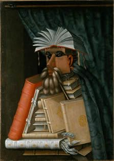 "Giuseppe Arcimboldo: ""The librarian"""