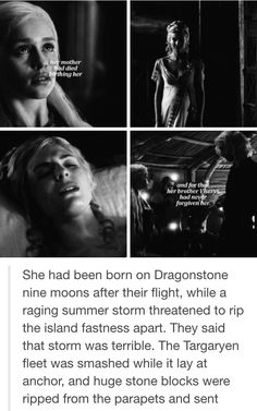 The mothers of Dany, Jon, and Tryion all died in child birth Valar Morghulis, Valar Dohaeris, Deanerys Targaryen, The Mother Of Dragons, Jon Snow And Daenerys, Drama Tv Series, Got Game Of Thrones, I Love Games, Fire Book
