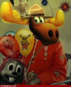 Rocky and Bullwinkle: Canada Day