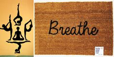 You can't help but breathe in inspiration while flowing through yoga poses, and now you can carry that blissful feeling around with you. Take a look at these yoga-inspired items for your practice, your home, and your life.    For Your.