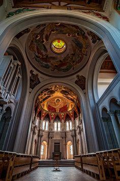 The church at St. Joseph Abbey & Seminary College in Covington, La. Such beauty.
