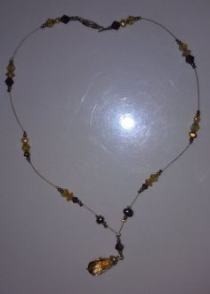 This is citrine gem was a gift from my daughter, Rachel, when she visited Brazil.