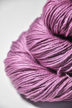 50% Silk, 50% Wool  yardage per 100g: 232 yds.(212m) listing skein size: 100g => 232 yds.(212m)