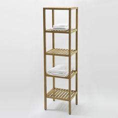 Afbeeldingsresultaat voor handdoek ladder bamboe