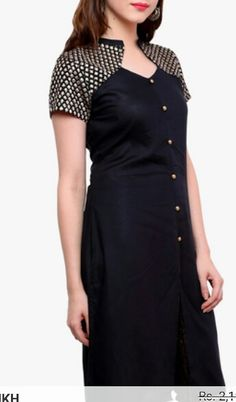 Kurti Salwar Neck Designs, Churidar Designs, Neck Designs For Suits, Kurta Neck Design, Kurta Designs Women, Dress Neck Designs, Blouse Designs, Kurta Patterns, Dress Patterns