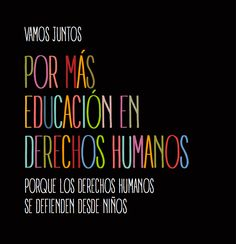 Educación en Derechos Humanos.