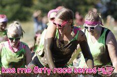 Kiss Me Dirty Mud Run Series -  Portland Intl. Raceway - Portland, OR  Kiss Me Dirty Mud Run Series