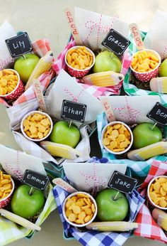 Back-to-School Picnic Lunch Basket