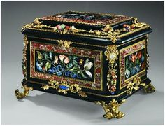 Jewelry Box in The Royal Jewelry Museum) in Alexandria, Egypt