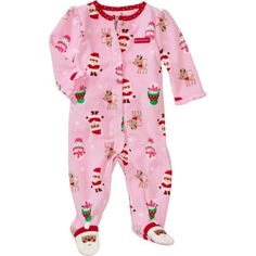 """Carter's Baby Girls """"My First Christmas"""" Footie Pajama, Pink, Size: 0-3 mths Carter's,http://www.amazon.com/dp/B009VL5E5A/ref=cm_sw_r_pi_dp_66Jjsb1CK96MP463"""