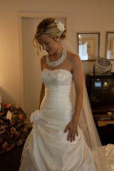 bridal rhinestone statement necklace swarovski crystal mosaic