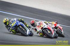 Valencia, 2014, race, #rossi #iannone and #marquez #MotoGP #yamaha #andreaiannone #valentinorossi #vr46 #Valencia #Spain
