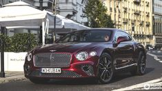 Bentley Continental GT 2018 First Edition in Warsaw, Poland Spotted on by Sierak New Bentley, Rolls Royce Cullinan, Bentley Motors, Bentley Continental Gt, Rolls Royce Phantom, Motor Company, Amazing Cars, Luxury Life, Toys For Boys