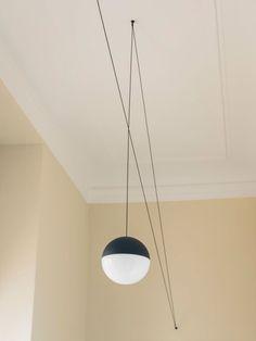 String Light Sphere Head diseñada por Michael Anastassiades String Lights, Ceiling Lights, Lighting, Madrid, Home Decor, Lights, Decoration Home, Room Decor, Fairy Lights