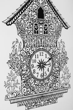 The beautiful inky work of johanna basford